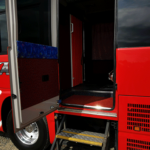 中型バス ワイドトランク506トランクルーム