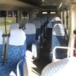マイクロバス座席2